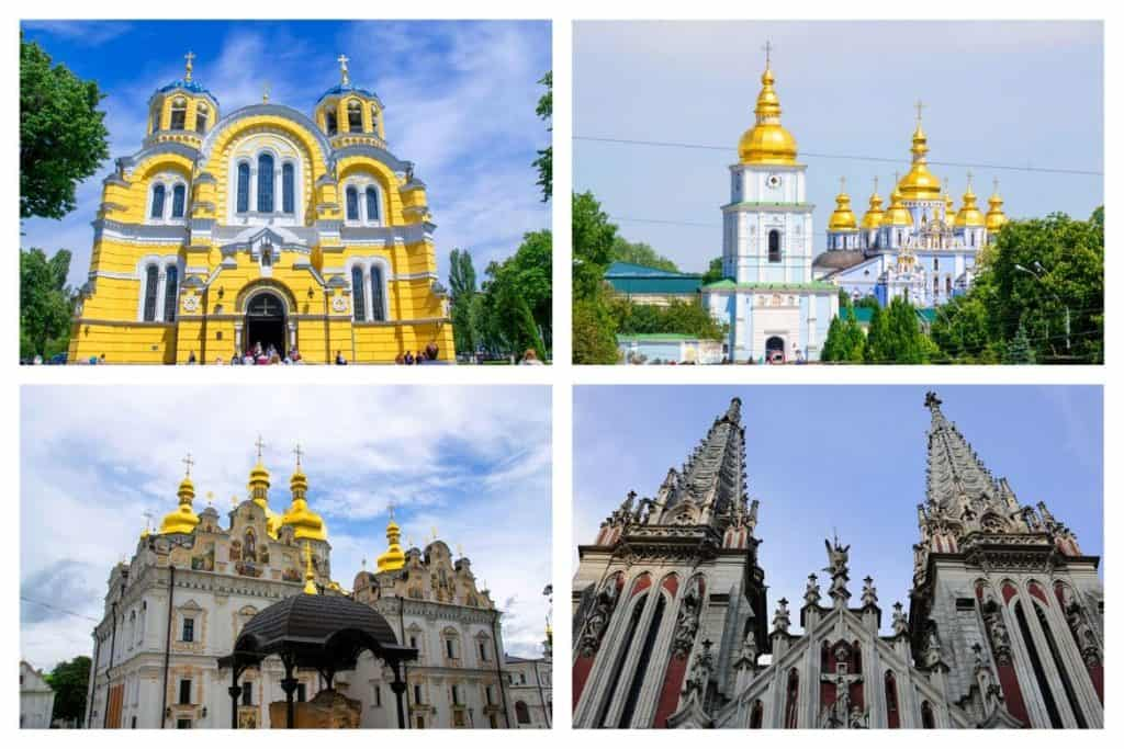 Must see Churches in Kyiv for architecture and history lovers - Cathedrals, monasteries