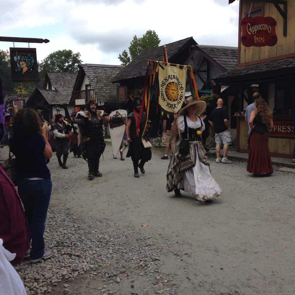Renaissance Faire Parade