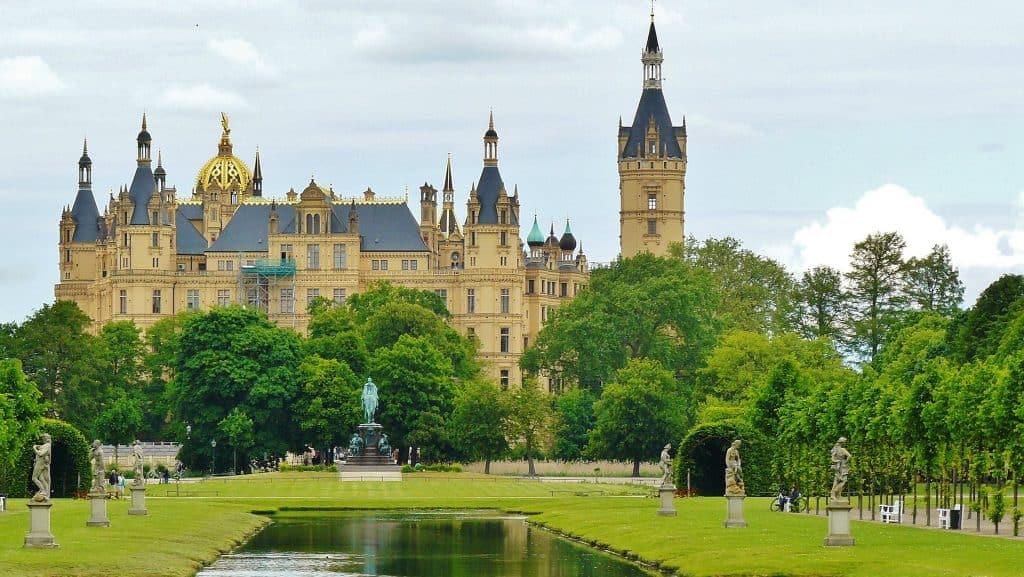 Scherwiner castle in Germany
