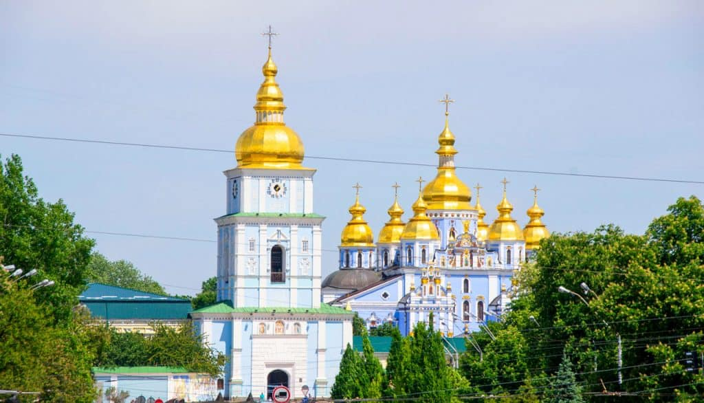 St. Michael's Golden-Domed Monastery - Churches in Kyiv
