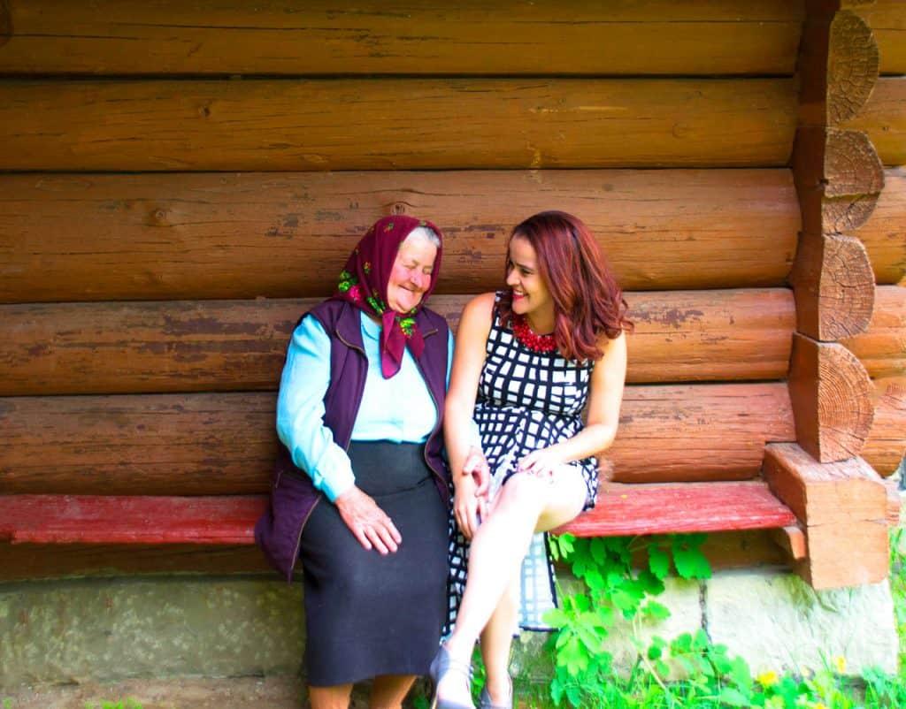 The Magic of the locals in Ukraine - Carpathian Mountains - Olga Maria Dreamsinheels