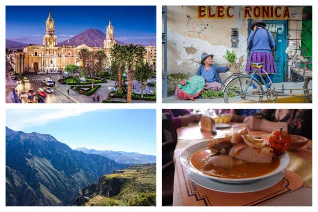 Top things to do in Arequipa Peru + A 2 day Colca Canyon tour
