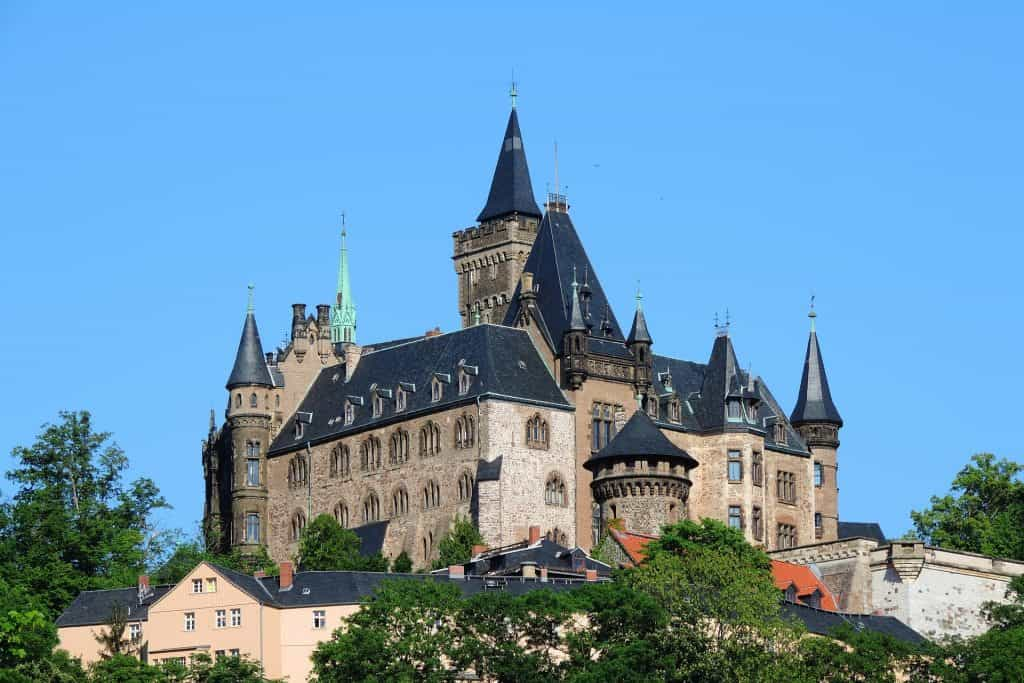 Wernigerode castles to visit in Germany
