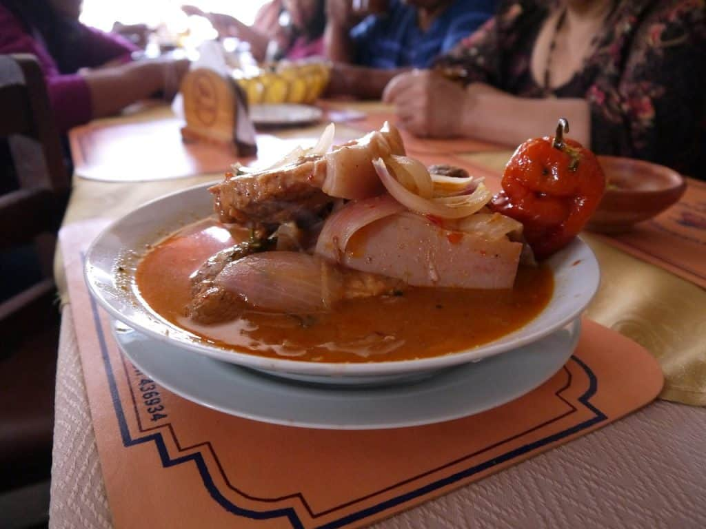 best places to eat in Arequipa Peru