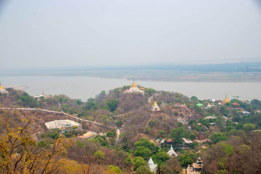 best views Mandalay Myanmar