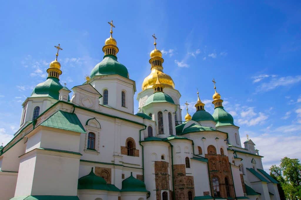 st sophia's cathedral - best churches in kyiv