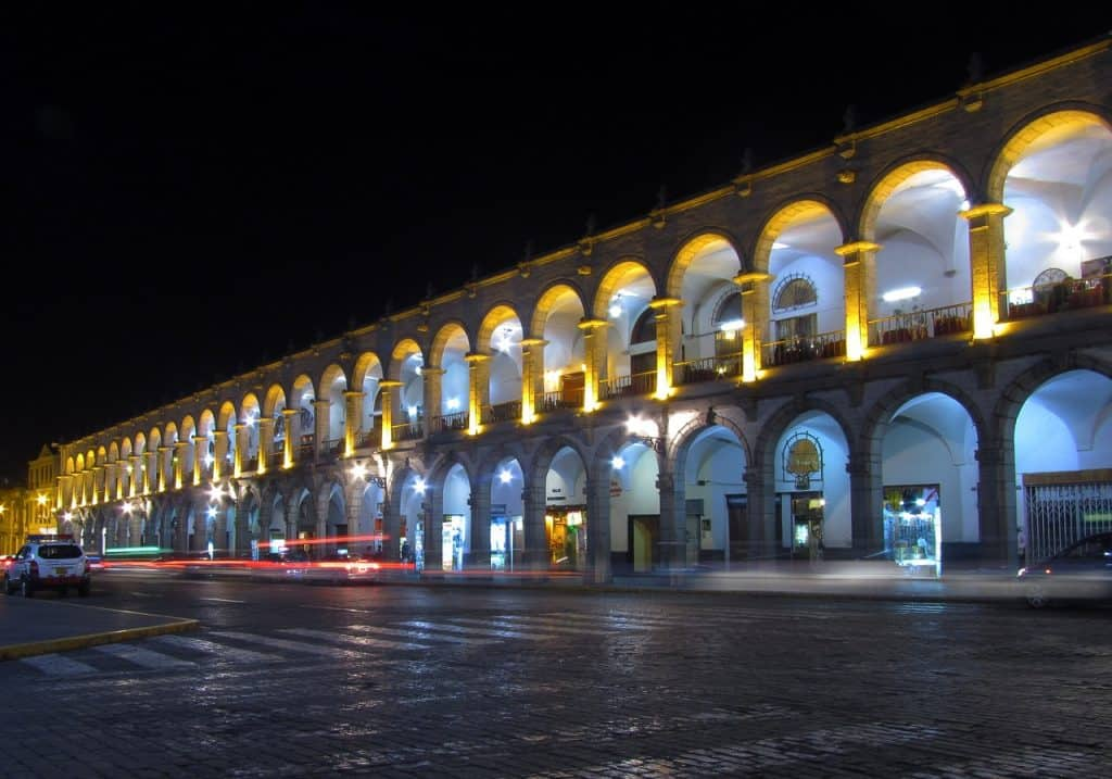 the Plaza Del Armas in Arequipa Peru Travel guide