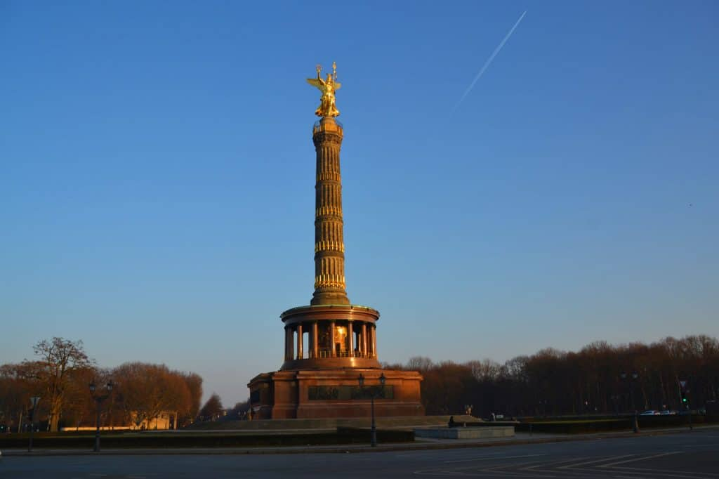 the victory column of berlin germany