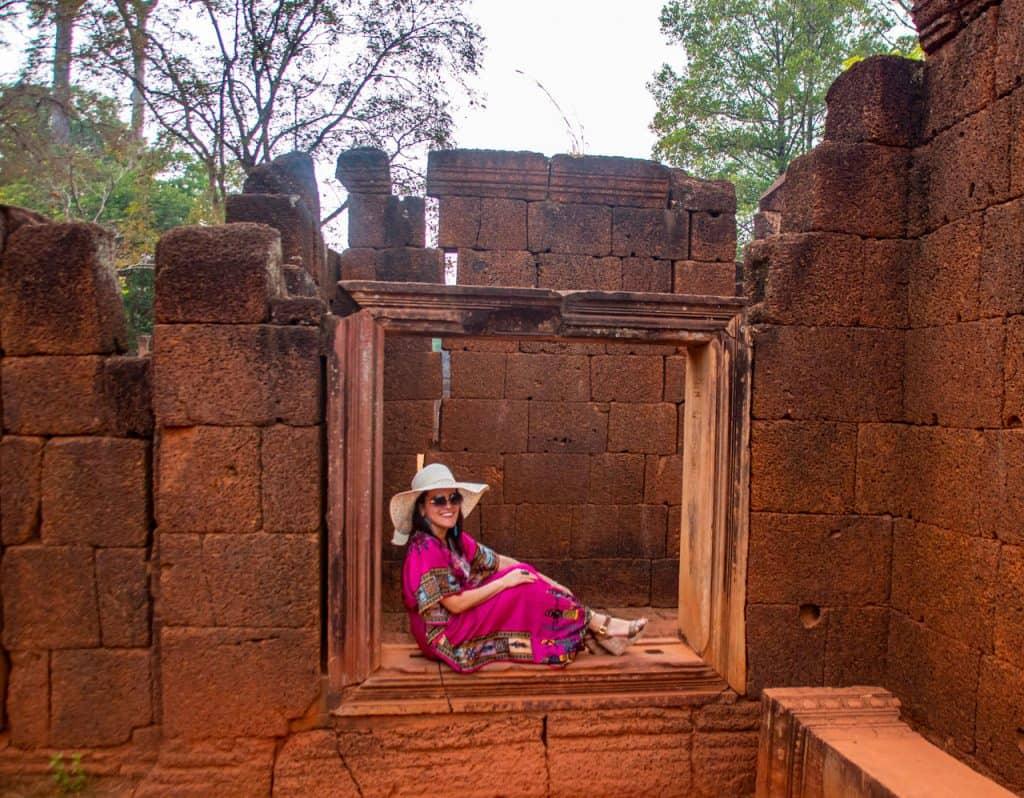 Banteay Srei Temple - Shiva Hindu Temple