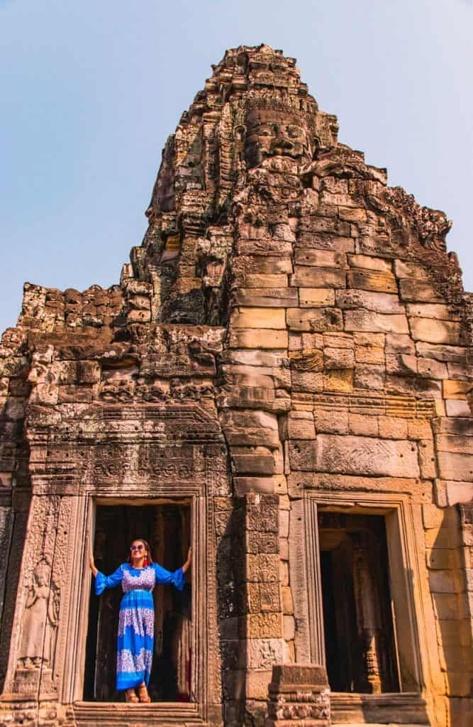 Bayon Temple – the Temple of Faces - Dreams in Heels