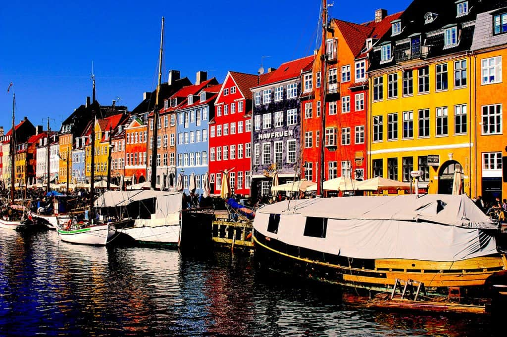 Copenhagen - Nyhavn - Denmark in October