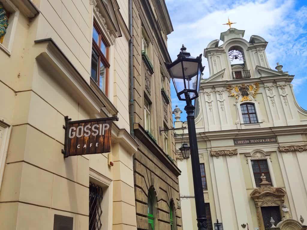 Gossip cafe - best brunches in Krakow Poland