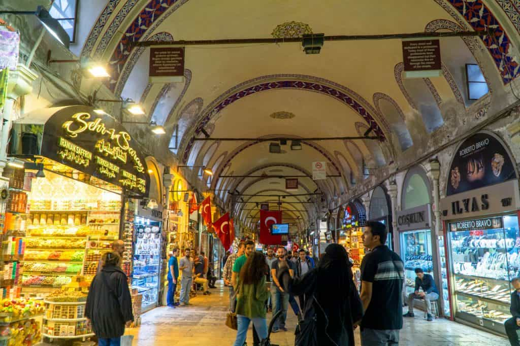 Grand Bazaar Istanbul Turkey Travel