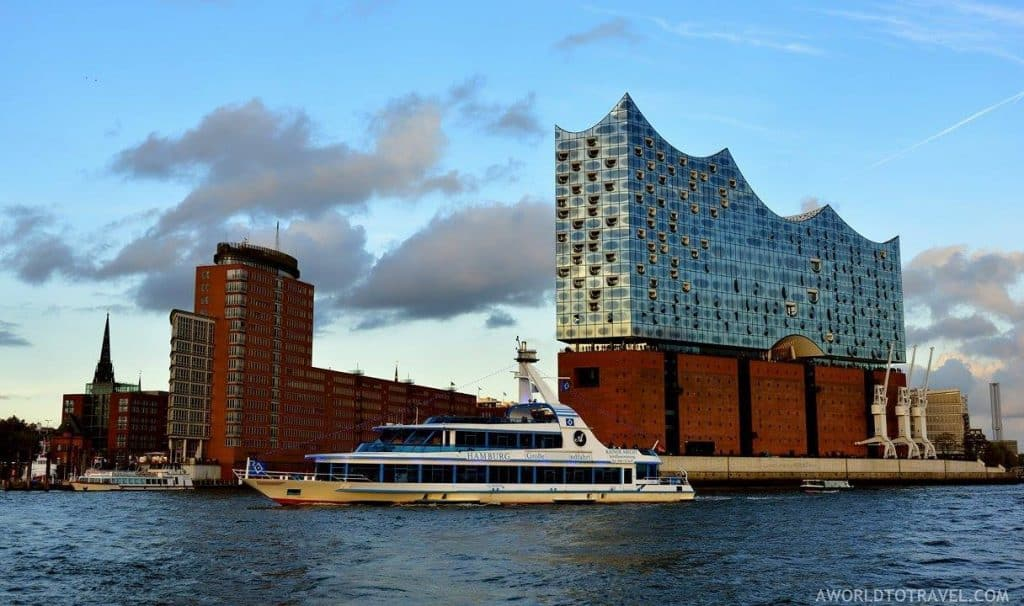 Hamburg boat ride by A World to Travel