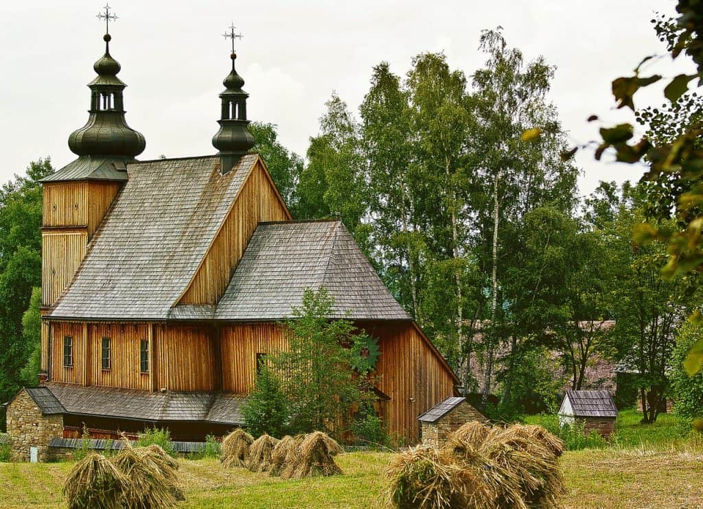 Malopolska Wooden Architecture Trail - church