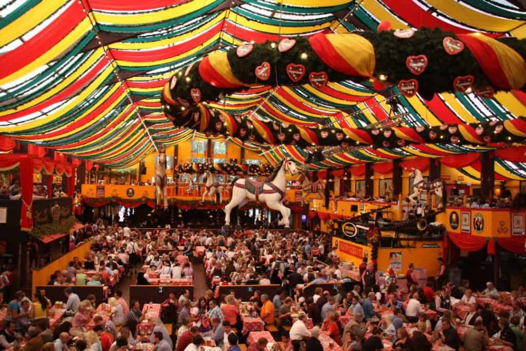 Oktoberfest in munich travel autumn fall