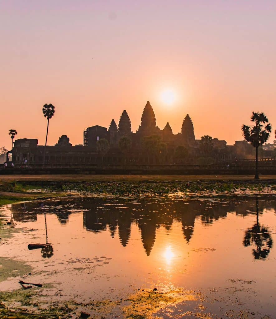 Sunrise at Angkor Wat - Best places to visit in Cambodia - Dreams in Heels