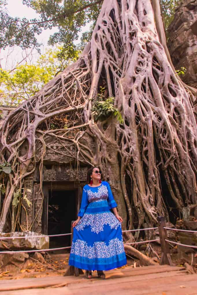 Ta Prohm the temple from Tomb Raider - Angelina Jolie Scene