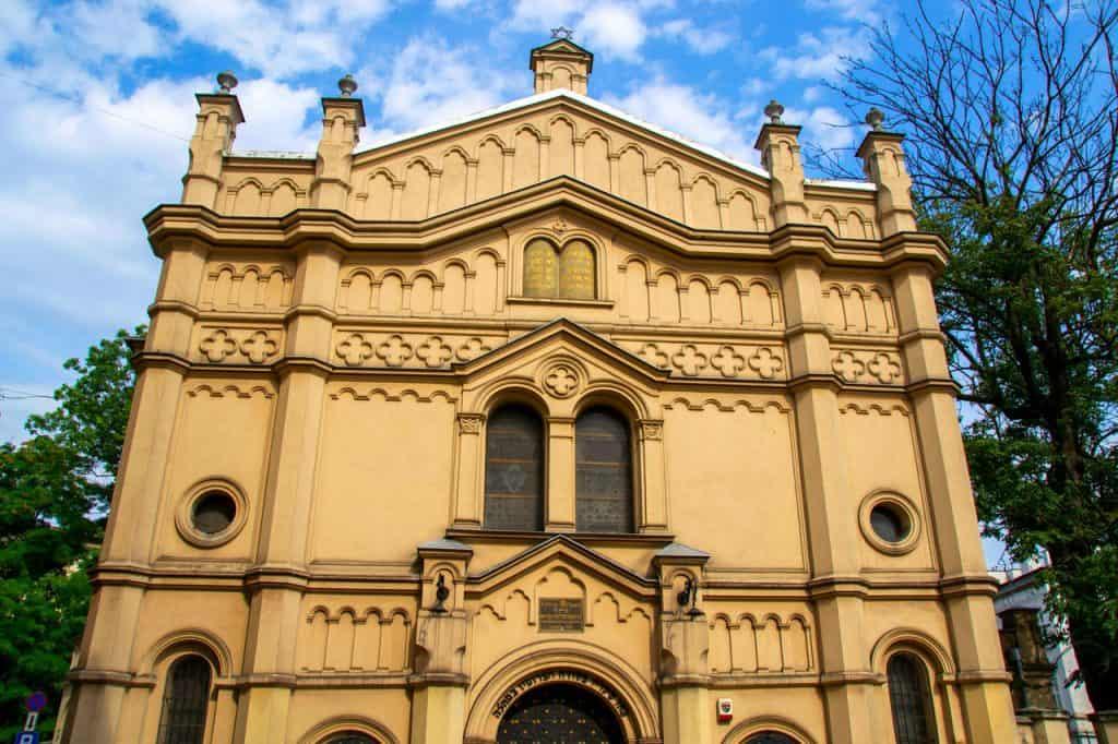 Tempel Sinagogue Kazimierz Krakow Poland
