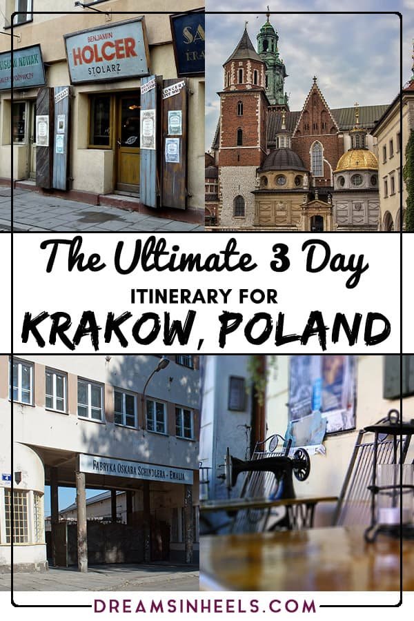 Searching for what to see in Krakow in 3 days? You've come to the right place. Here you can find a 3 days in Krakow Itinerary created to maximize your time and enjoy the magic of Krakow. Krakow has a long and varied history, which is evident all around in the architecture and attractions, plus it has an abundance of excellent eateries and nightlife options to keep all travelers happy. #Krakow #Poland #Polandtravel #Europe #Europetravel #EasternEurope #traveltips #travelguide