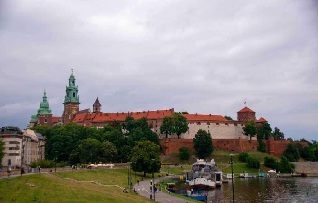 Wawel-Castle-River-Krakow-Poland
