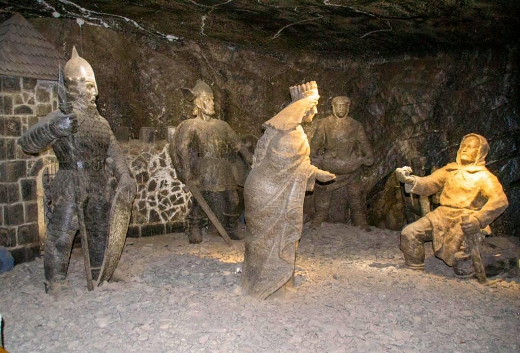 Wieliczka Salt Mine love story poland