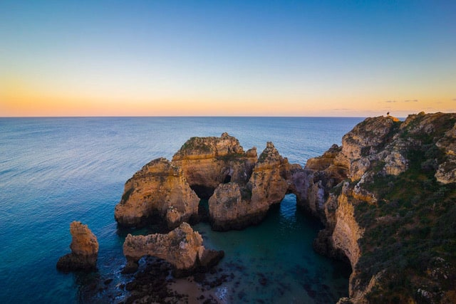 best destinations to travel during october in europe- algarve