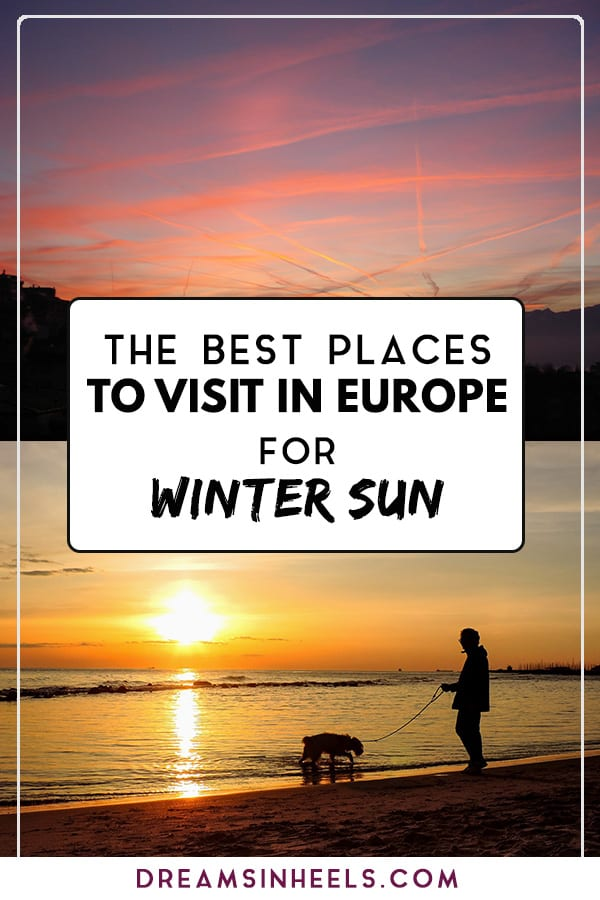 Best places to visit in Europe for winter sun