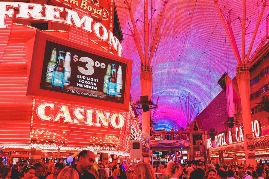 Centras-Fremonto gatvė-Las-Vegasas