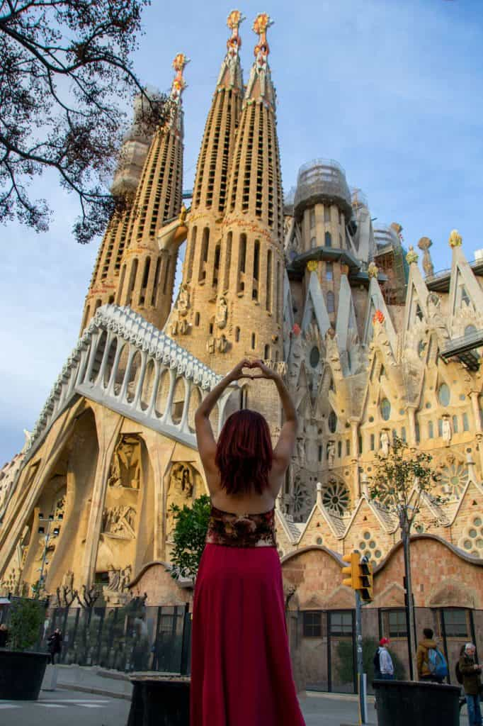 Dreamsinheels La Sagrada Familia Basilica Barcelona Spain