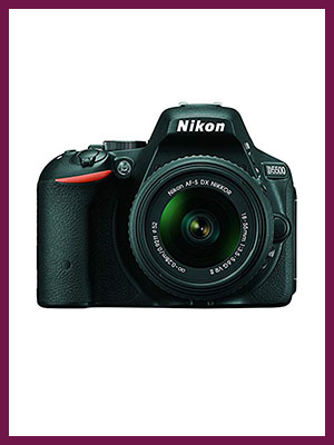 Nikon D5500 DX-format Digital SLR