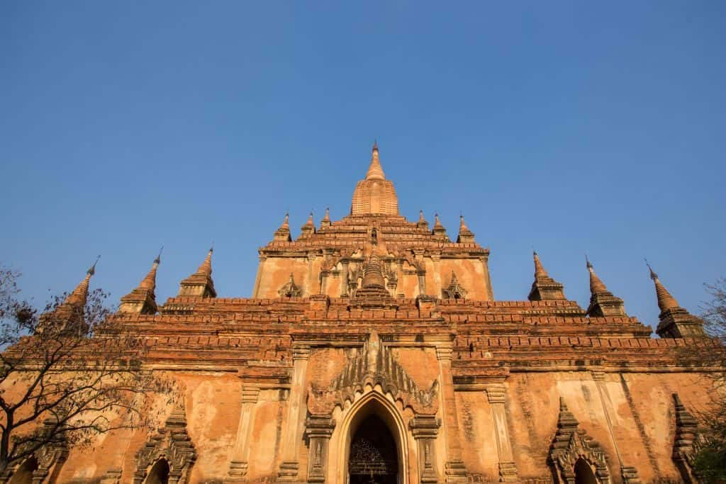 Htilominlo Pagoda Bagan Myanmar