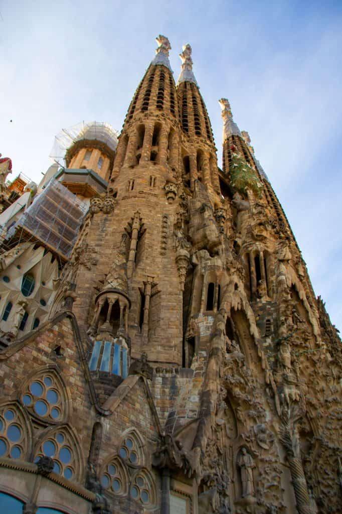 La Sagrada Familia Basilica Barcelona Spain