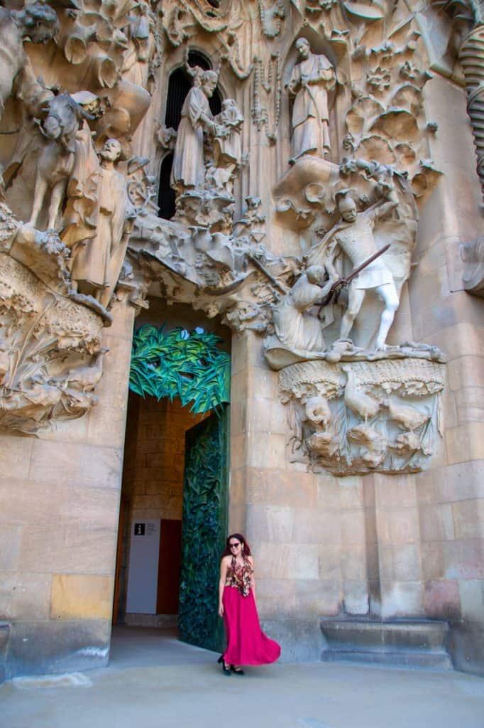 La Sagrada Familia Dreams in Heels