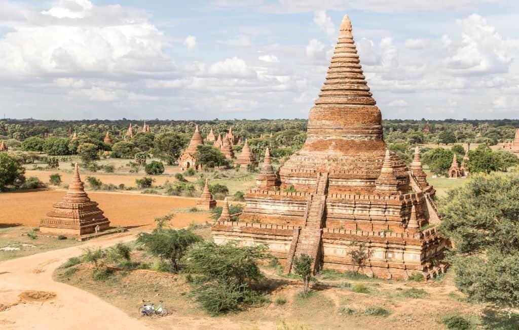 Mingalazedi Pagoda Bagan Myanmar