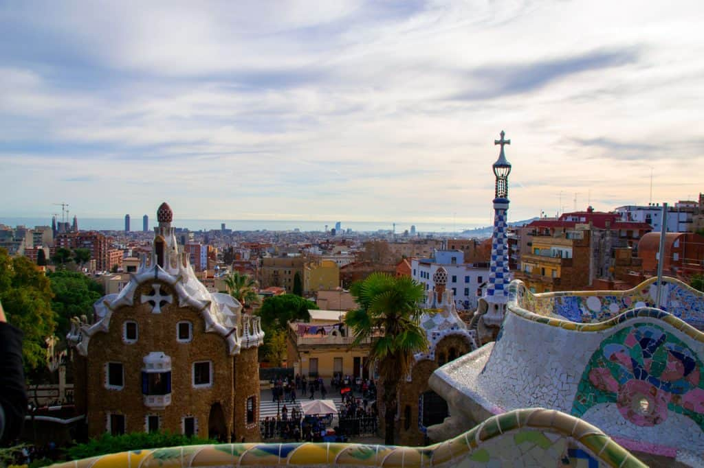 Park Guell Dreams in Heels Travel Blog