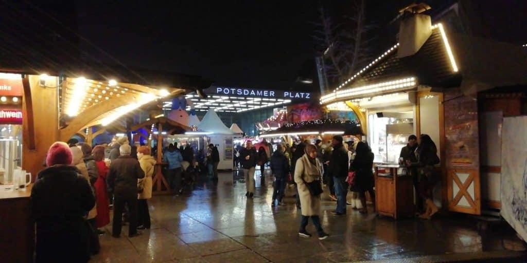 Potsdamer Platz Christmas Market in Berlin