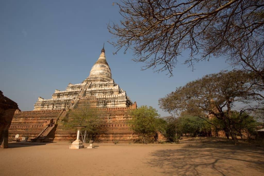 Shwesandaw pagoda Bagan Myanmar