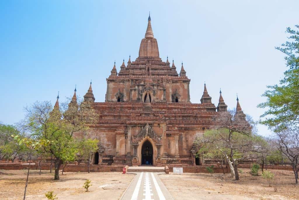 Sulamani temple Bagan Pagoda