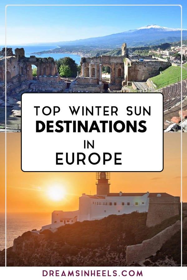 TOP WINTER Sun DESTINATIONS IN EUROPE