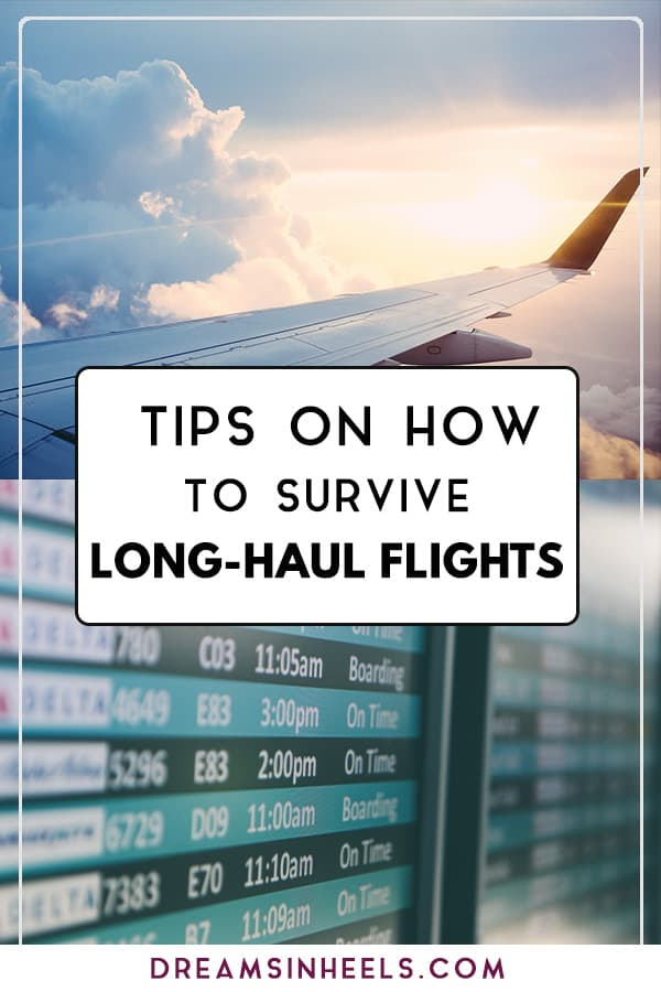 Tips on how to survive long-haul flights