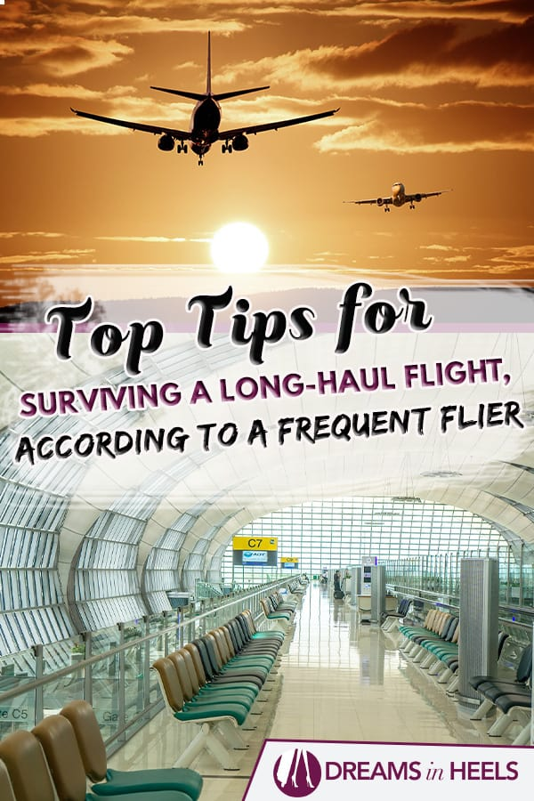 Top tips for surviving a long-haul flight, according to a frequent flier