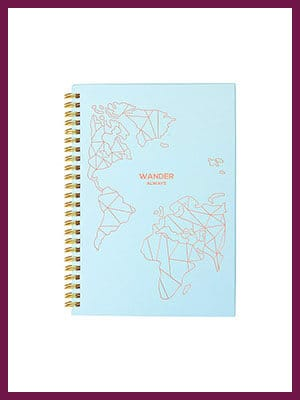 Travel Planner Journal