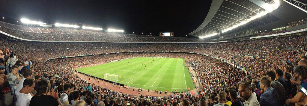 camp nou barcelona soccer fan