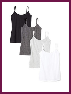 Women's 4-Pack Camisole