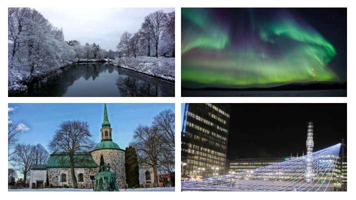 Sweden in Winter - Best places to visit in Sweden during Winter