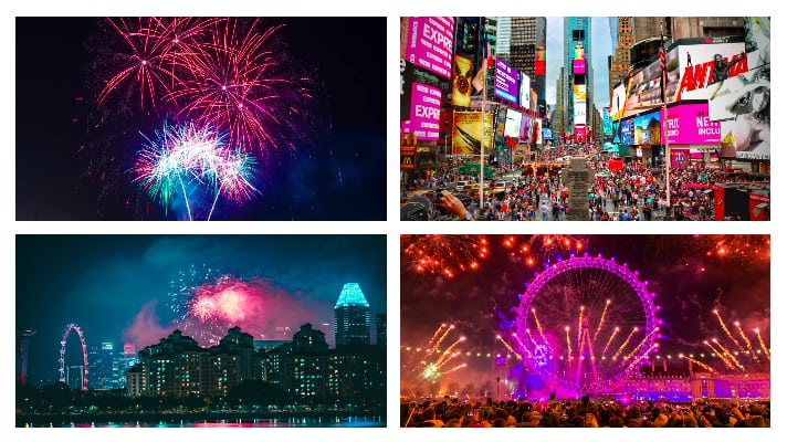 Best Places To Spend New Year's Eve around the world