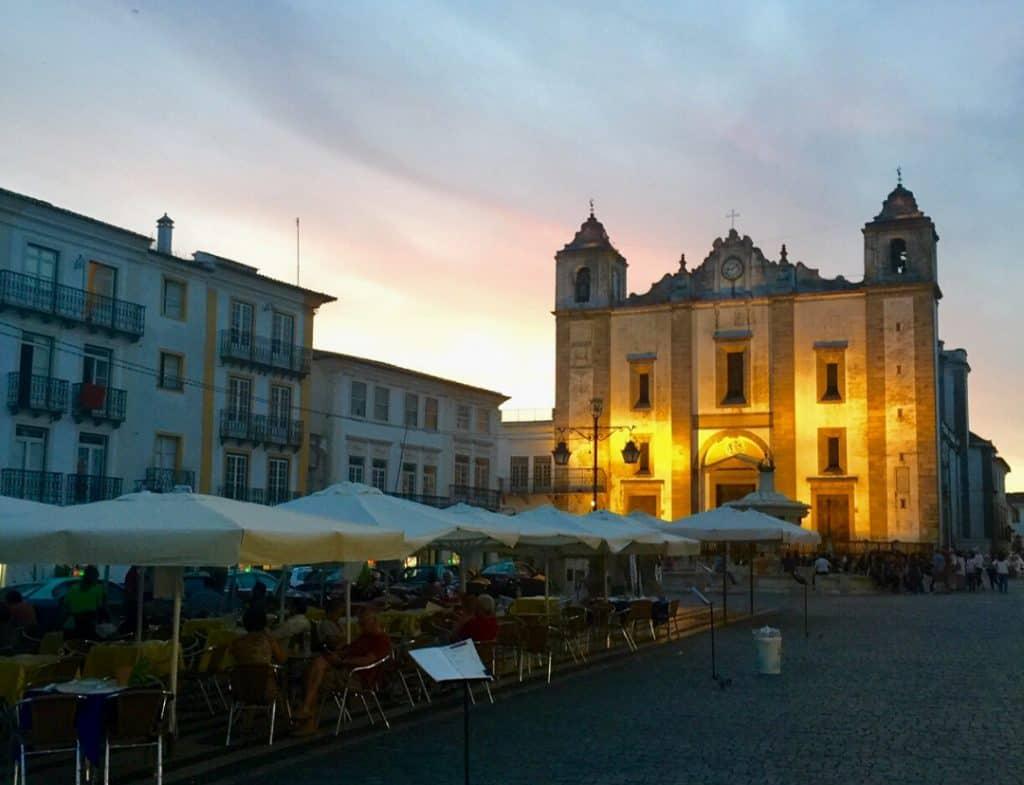 Praça do Giraldo-Evora-Portugal