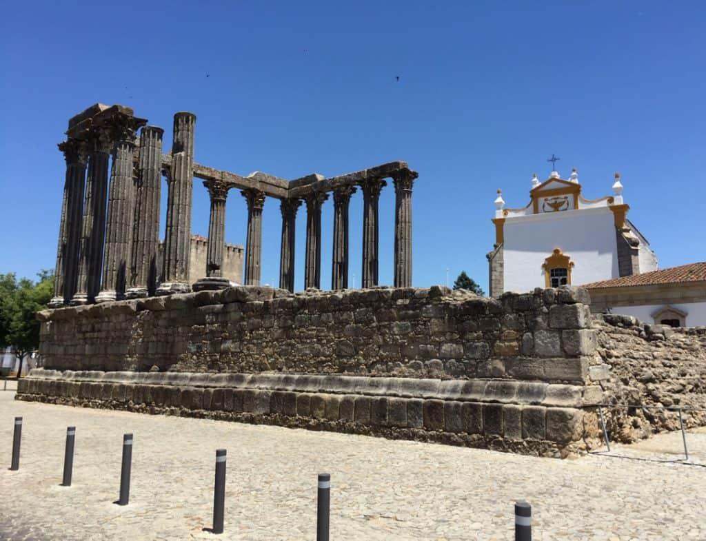 Roman Temple-Evora-Portugal