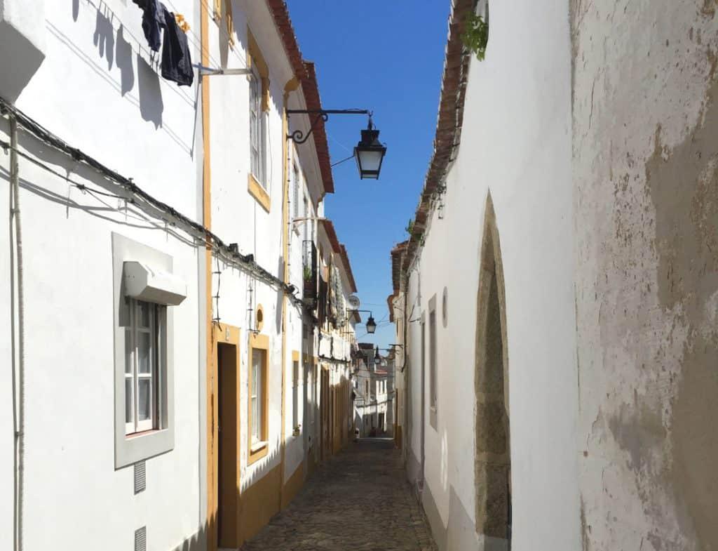 Street Scene-Evora-Portugal